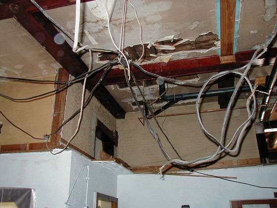 Unsafe Electrical System