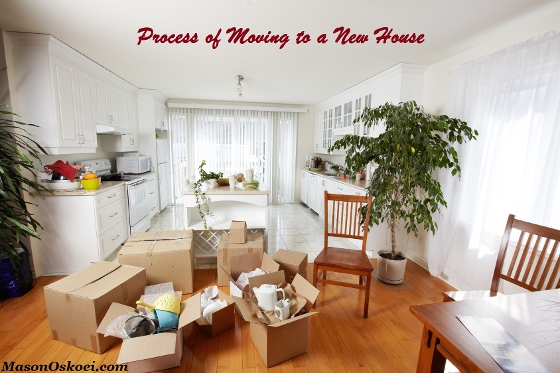 Process of Moving to a New House - Packing Tips